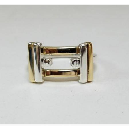 Tiffany-Co-18k-Yellow-Gold-925-Sterling-Silver-Band-Gehry-Axis-Ring-183140435054